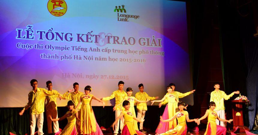 Tiết mục biểu diễn ấn tượng của các học sinh THPT Việt Đức
