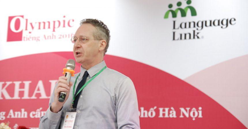 Ông Gavan Iacono – Tổng Giám đốc Language Link Việt Nam cho biết những thí sinh đạt giải sẽ là thí sinh giỏi tiếng Anh toàn diện.